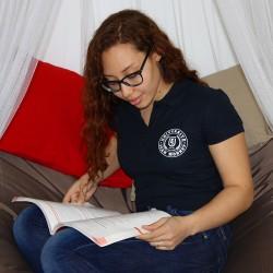 Women's UJM polo shirt