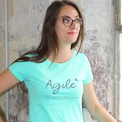 T-shirt Agile Femme