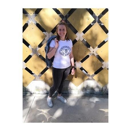 T-shirt UJM femme coloris blanc