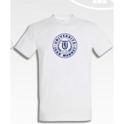 T-shirt UJM homme coloris blanc